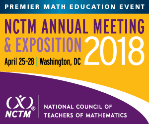 2018 NCTM Annual Meeting 300x250