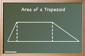 area of a trapezoid method 1