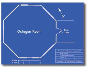 Afbeeldingsresultaat voor octagon room