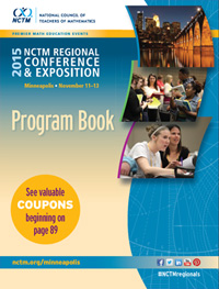 icon of program book, Minneapolis Conference 2015