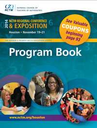 icon of program book, Houston Conference 2014