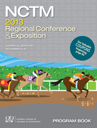 icon of program book, Louisville Conference 2013