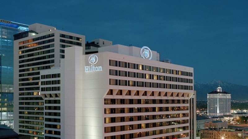 Hilton Salt Lake City Exterior