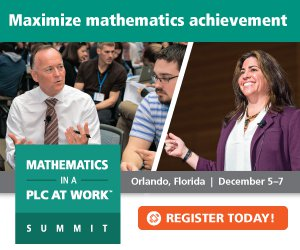 Register Now for the Solution Tree & NCTM Mathematics Summit