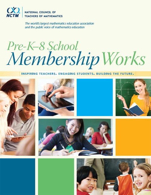 prek-8 school membership brochure
