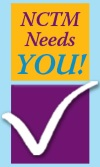 NCTM Needs You