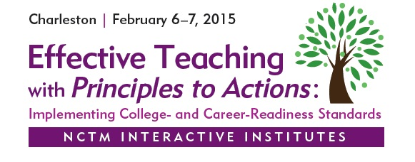 2015 Institute Effective Teaching with Principles to Actions