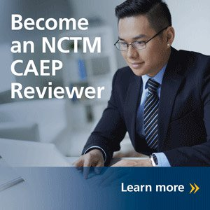 Become an NCTM CAEP Reviewer